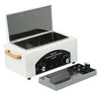Высокая Температура УФ стерилизатор поле ногтей Инструмент стерилизатор коробка с горячего воздуха дезинфекции кабинета ногтей оборудова