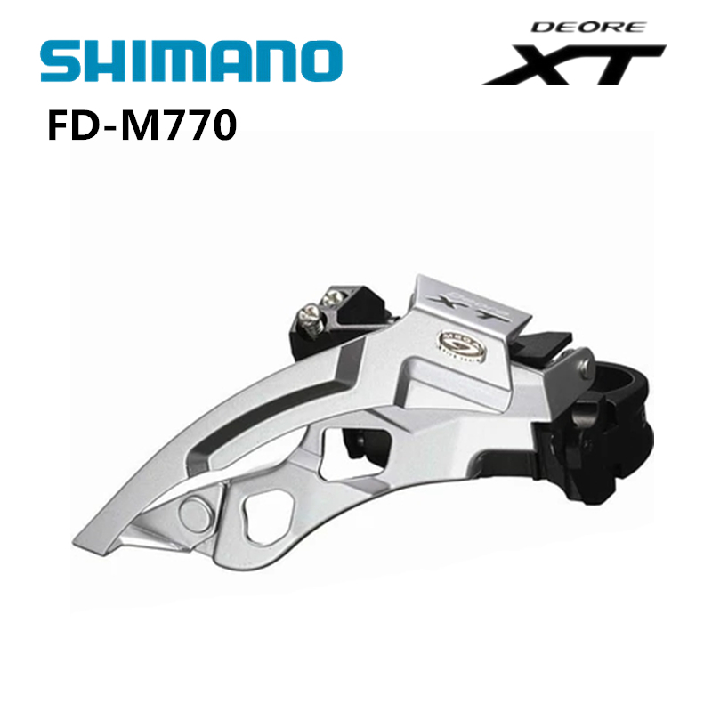SHIMANO Deore XT FD-M770 Front derailleur switch MTB bike mountain bike parts 3x9 speed transmission switch цены
