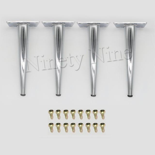 4x Cabinet Legs Kitchen Feet Worktop/Unit/Breakfast Bar/Desk Table Legs Furniture Legs - Metal 80*190MM4x Cabinet Legs Kitchen Feet Worktop/Unit/Breakfast Bar/Desk Table Legs Furniture Legs - Metal 80*190MM