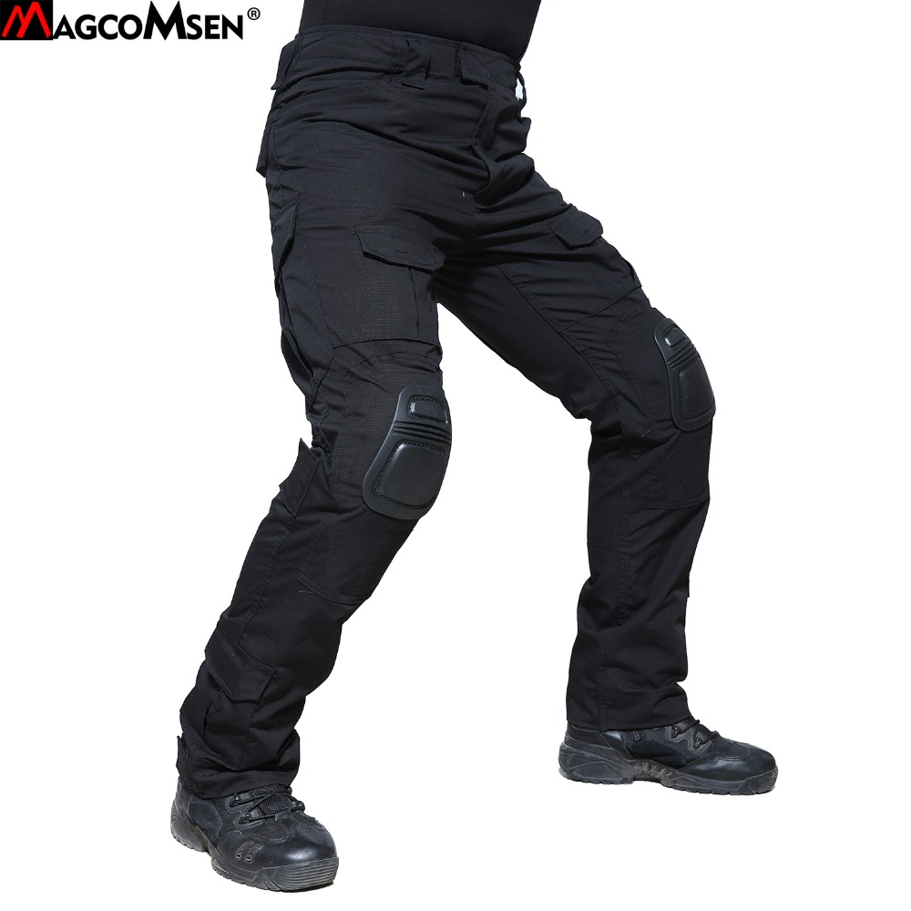 2019 Men Cargo Pants Casual Multi Pocket Pant Military Tactical Long Full Length Trousers High Quality
