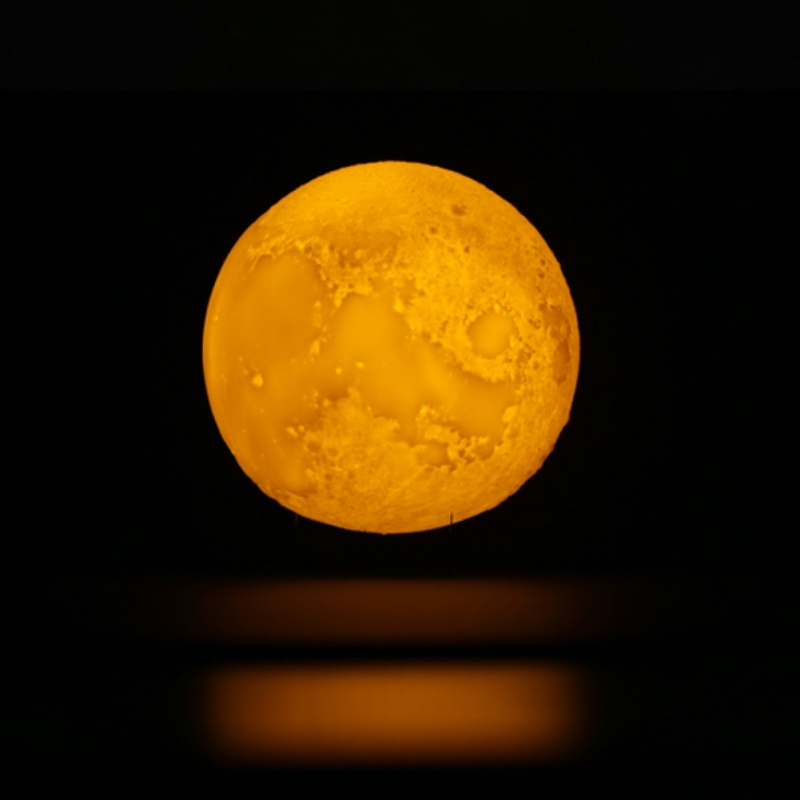 3D Printing Injection Moon Light # 16 Color Remote Control Touch Control Moon Light Bussiness Gift 12CM 15cm Diameter