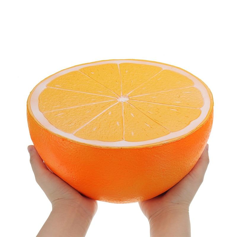 Morbido squishy Cinghia del telefono Big Orange Anguria jumbo squishies Lento Aumento di giocattoli Per Bambini Collezione divertente spremere giocattoli regalo Fragola