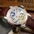 LIGE 2016 Novo Luxo Casual Relógio Homens Esqueleto Relógio Automático Negócio Relógio Mecânico Relogio Masculino Relojes Montre Relógio Dos Homens