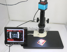Best Buy 14MP HDMI USB Digital Industry Video Microscope Camera Set + Big Stand Table+300X C-MOUNT Lens+ 8″ inch LCD Monitor