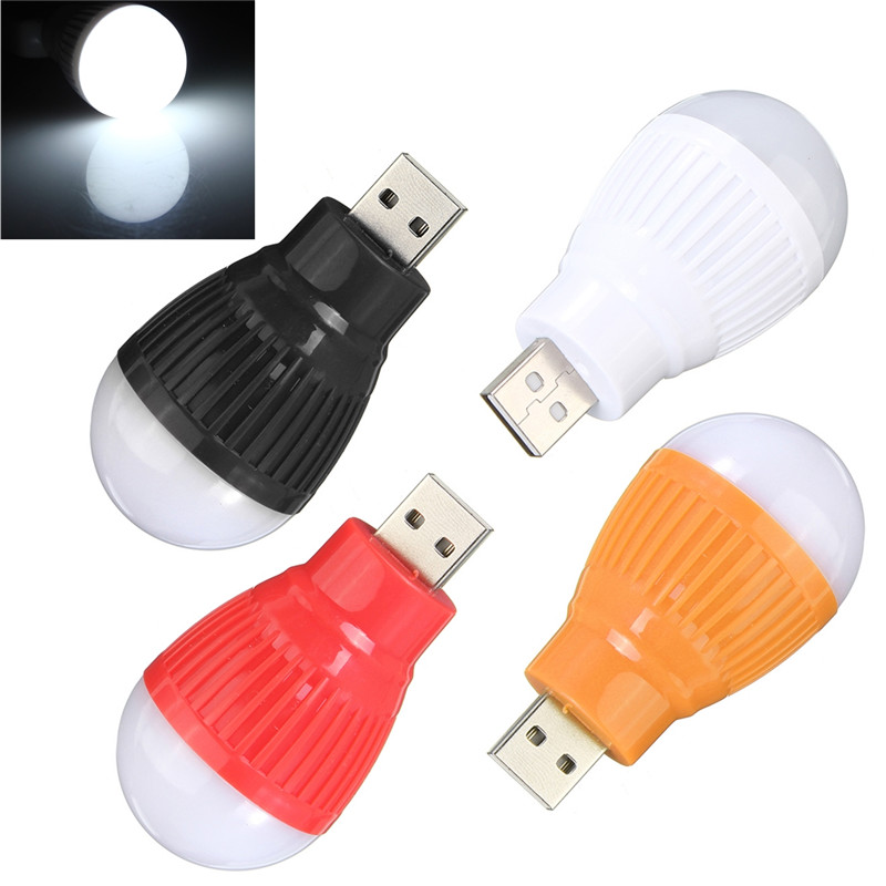 New Portable Mini Usb Led Light Lamp Bulb For Computer