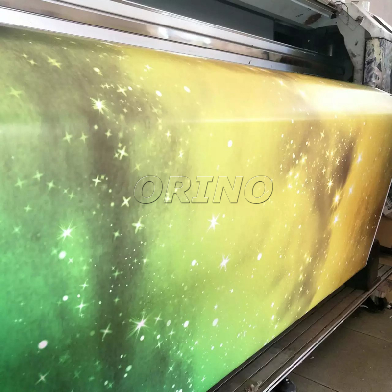 Luxurious Motorcycle Truck Car Body Wrap Cover Sticker Starry Galaxy Star Vinyl Foil Film Size1525 10 15 20 25 30M In Stickers From