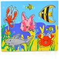 2016 Новых прибыть Детские Деревянные Магнитные Рыбалка Игры Головоломки Доска 3D Головоломки Дети Образование Игрушки