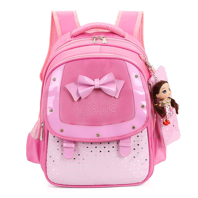878da79612 placeholder Cute Bow Girls Backpacks Kids Satchel Children School Bags For  Girls Orthopedic Waterproof Backpack Bookbag Mochila