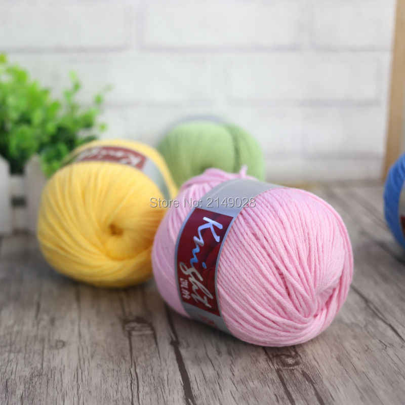 子羊ウール、生物カシミヤ、アクリル糸手編み厚いスレッドこだわり作るスカーフセーターコート手袋帽子b
