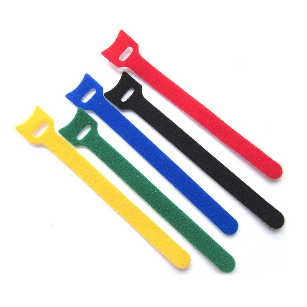 1 Màu Kẹo Màu Đa năng Magic vỏ Dây Cáp Dây Cáp Nối Máy Tính Cuốn Gọn Cáp Dòng Bọc Chốt Nhà Văn Phòng tổ Chức Công Cụ