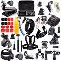 57 in1 Action Camera Accessories Kits for Gopro 4/3/2/1 SJ4000 SJ5000 Xiaomi Yi 2 4k Accessory Bundles
