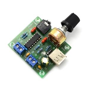 Image 5 - USB المحمولة مكبر كهربائي صغير مجلس ايفي CM2038 مضخم الصوت قناتين 5 واط + 5 واط مجلس DC5V مع علبة مكبر الصوت D5 002