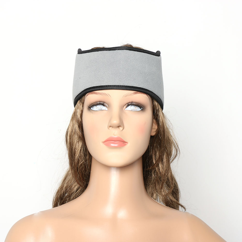 1 pc Women Men Ear Warmer Winter Head Band Polar Fleece Black Ear Muff  Unisex Stretch Spandex Hair Band Accessories-in Women s Hair Accessories  from Apparel ... 710538088e1a