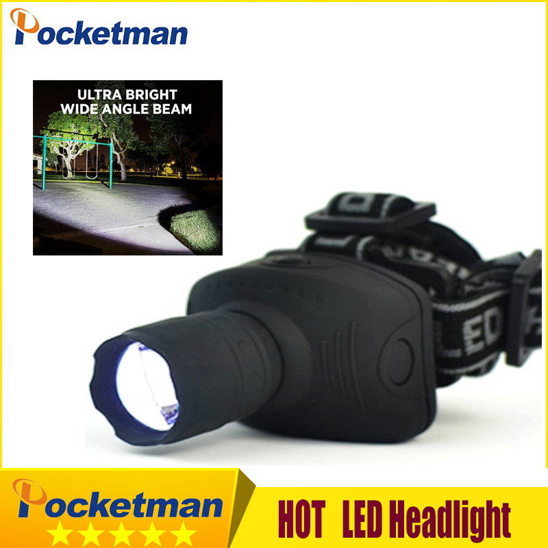 2000 Lumens LED Headlight Headlamp Flashlight Frontal Lantern Zoomable Head Torch Light To Bike For Camping Hunting Fishing Z50