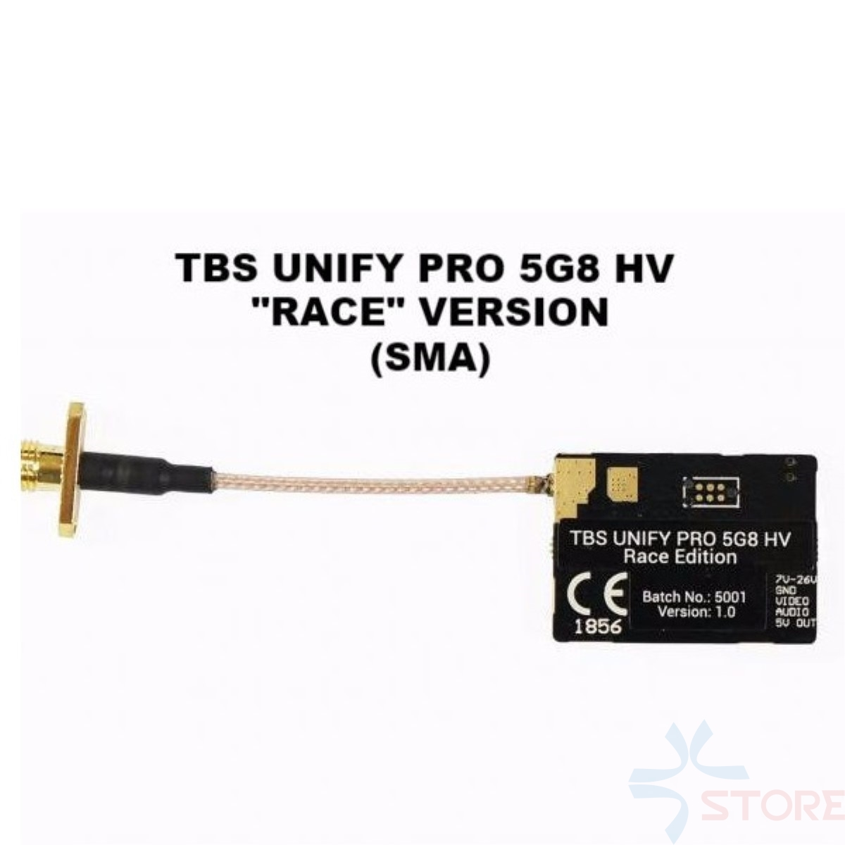 Equipo Blacksheep TBS unificar Pro carrera 5G8 HV carrera V2 5,8 GHz FPV Mini transmisor (SMA)