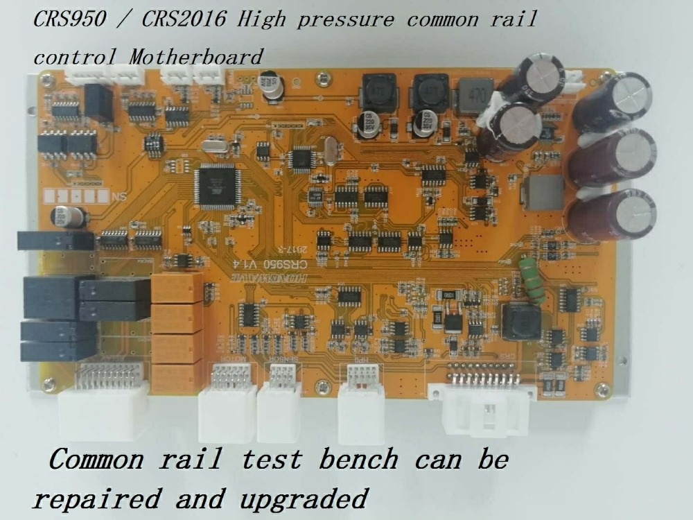 CRS950/CRS2016 controle Motherboard para Common Rail de Alta pressão common rail Banco de Ensaio Repair & Upgrade