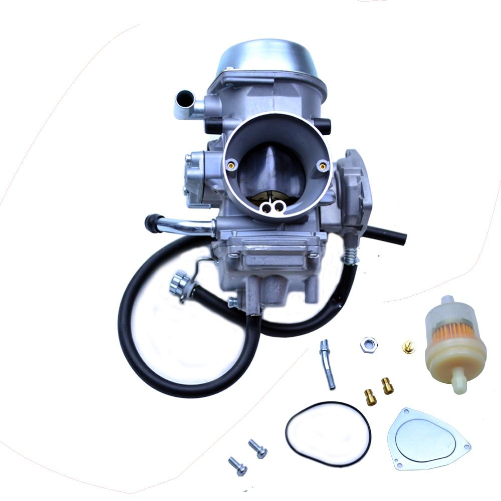 Carburetor For YAMAHA GRIZZLY 660 YFM660 2002 2003 2004 2005 2006 2007 2008 ATV brake shoe pads set fit for yamaha atv yfm450 yfm 450 fxv fxw fxx fxy fxz wolverine 2006 2007 2008 2009 2010