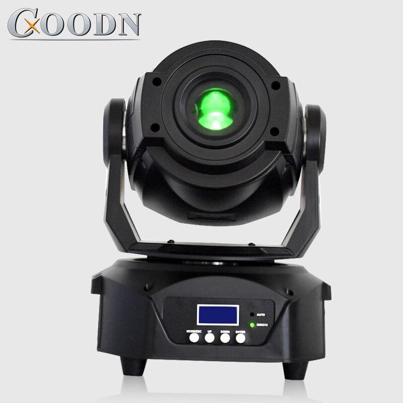 90w Led tête mobile Spot lumière DMX Gobo couleur Focus 3 facette prisme effet éclairages pour Disco Club scène mariage fête décoration