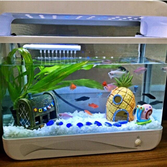 Aquarium landscaping / house / Room Escape SpongeBob SquarePants hee fish aquarium decorative ...