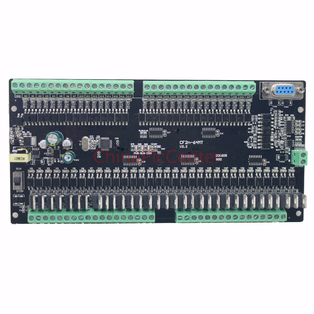FX2N CF2N 64MT RS485 programmable logic controller 32 input 32 Transistors output plc controller automation controls plc system plc programmable logic controller for fx2n 64mt 001