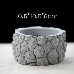 W kształcie ananasa design betonowa doniczka silikonowa forma cementowa sukulenta doniczka