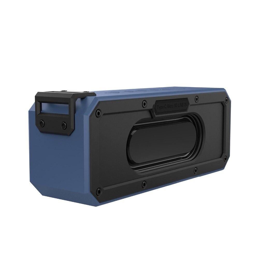 IPX7 Водонепроницаемый Портативный Беспроводной СПЦ Bluetooth V4.2 стерео Бас Динамик аудио DSP звук TF Динамик на открытом воздухе с микрофоном
