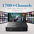 Linux Mag 250 Iptv Set Top Box Europa Caixa de IPTV Arábica incluem Céu Grego Português Espanhol Inglês Indiano Canais IPTV Caixa de TV