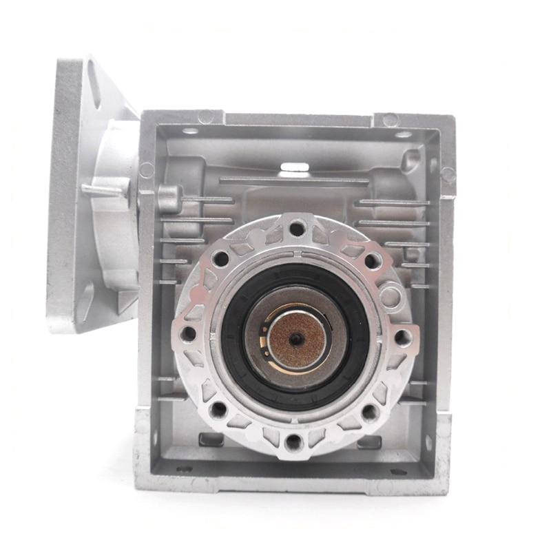 Geschwindigkeit Verhältnis 60: 1 Hohe Qualität NMRV040 Wurm Getriebe Minderer, RV40 Getriebe mit Ausgang Welle für NEMA24/32/34/36 Stepper/Servo Motor