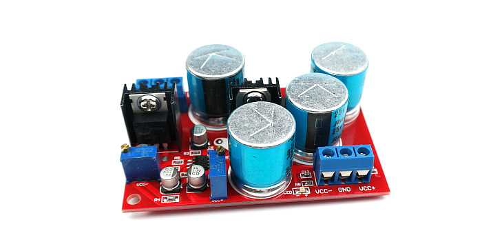 LF353 servo regulated power supply board LM337 LM317 dual power supply adjustable voltage stabilized power supply