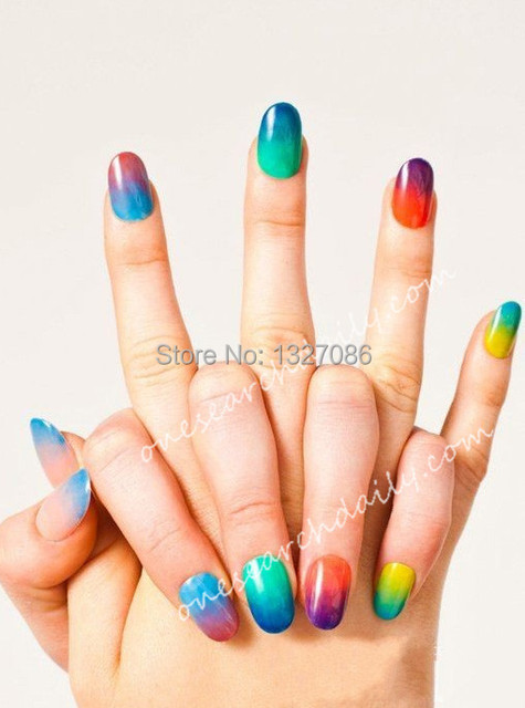 8pcs New Woman Salon Nail Sponges for Acrylic Makeup Manicure Nail Art Accessory