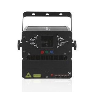 Image 3 - بطاقة SD للأجنبي 500mW RGB DMX للصور المتحركة عارض إضاءة ليزر للمسرح ديسكو DJ للحفلات والنوادي والحفلات الموسيقية تأثير احترافي