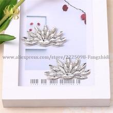 FZD 100 PCS Hot Fix beaded bridal belt Rhinestone Applique and Trimming for Shoes Stones Decorative