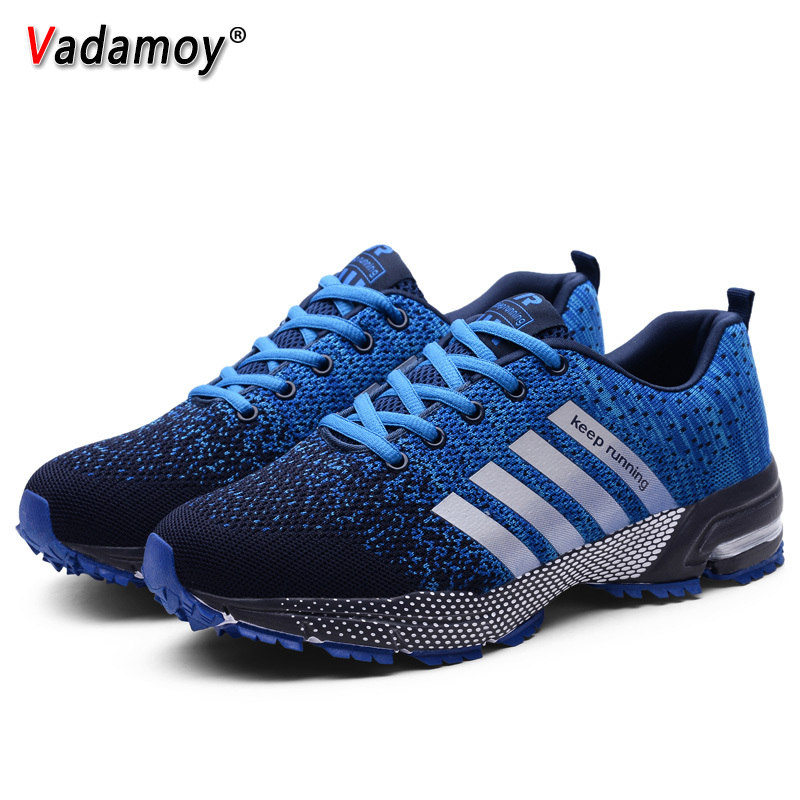 Running Shoes Unisex Outdoor Sports Shoes Lightweight Sneakers Men Women Shoes Athletic Training Footwear For Lovers Plus Size