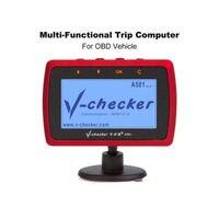 V checker A501 Trip Computer OBD II Scanner Car Engine Fault Code