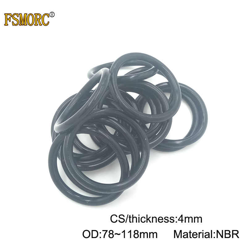 50x 26 x 4mm Nitrile 70 O/'Ring
