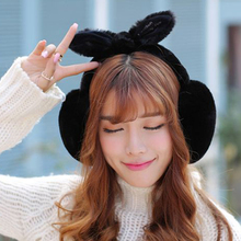 2017 New Design Winter Warm Earmuffs Cute For Women Comfort Oversized Earmuffs Plush Ear Muff Latest Earmuffs Drop Shiping