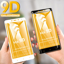 XINDIMAN 9D glass on for xiaomi redmi note4X Black white full tempered note4 screen protector