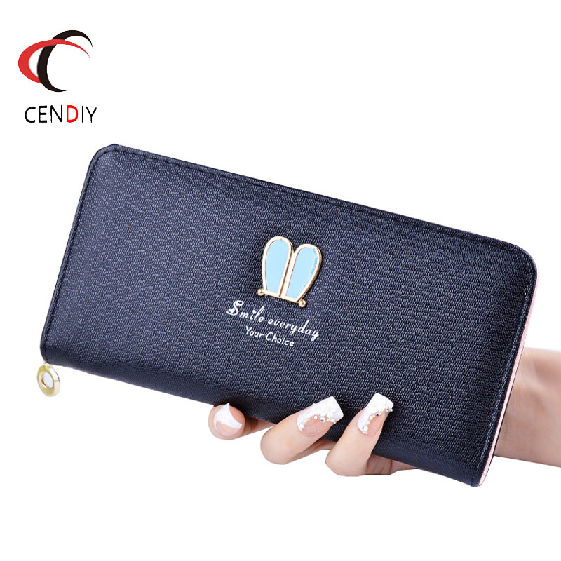 PU Leather Women Purse Wallets female Famous Brand Designer Long Wallet Women Wallets Bag Ladies Cute Simple fashion Coin Purse Сумка