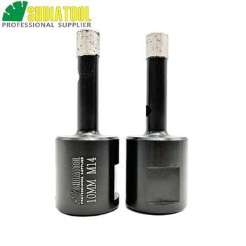 цена на SHDIATOOL 2pcs M14 Dia 10mm Welded Diamond Drilling Core Bits (Wet) Hard Granite Marble Drill Bit Stone Concrete Hole Saw