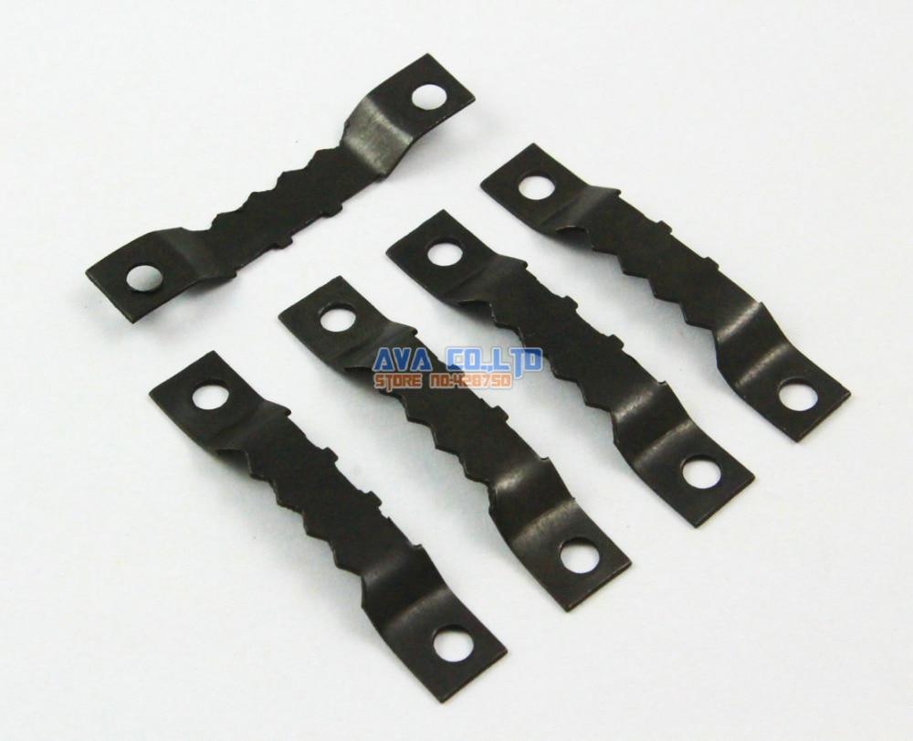 100 Pieces Black Photo Frame Hook Hanging Hanger 45x8mm
