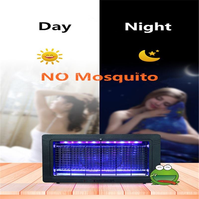 assassino de pragas mosquito voar zapper luzes led 05