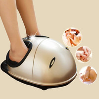Foot Massage Relaxant Heating Therapy Reflexology 3D Foot Massager Beauty and Health Care Infrared Shiatsu Feet Detox Massager