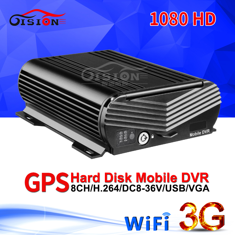 GISION 3G GPS WIFI AHD Mobile Dvr 8CH Video/Audio Input 1080N HDD Mdvr Remote Real Time Surveillance GPS Positioning Car RecordGISION 3G GPS WIFI AHD Mobile Dvr 8CH Video/Audio Input 1080N HDD Mdvr Remote Real Time Surveillance GPS Positioning Car Record