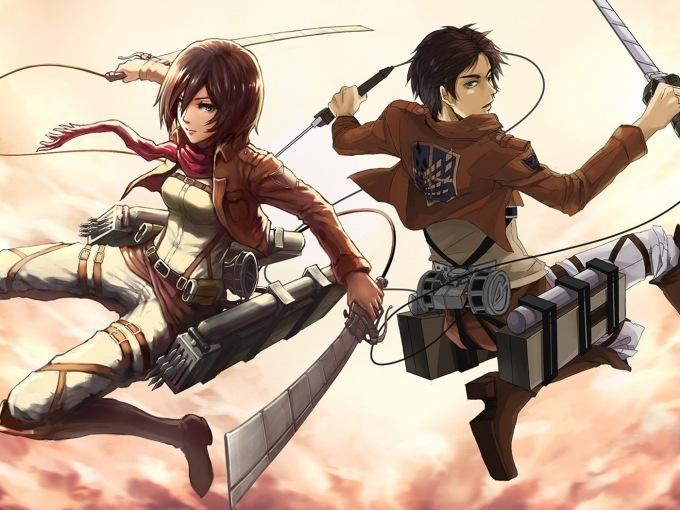 Attack on Titan Skirt Eren and Petra
