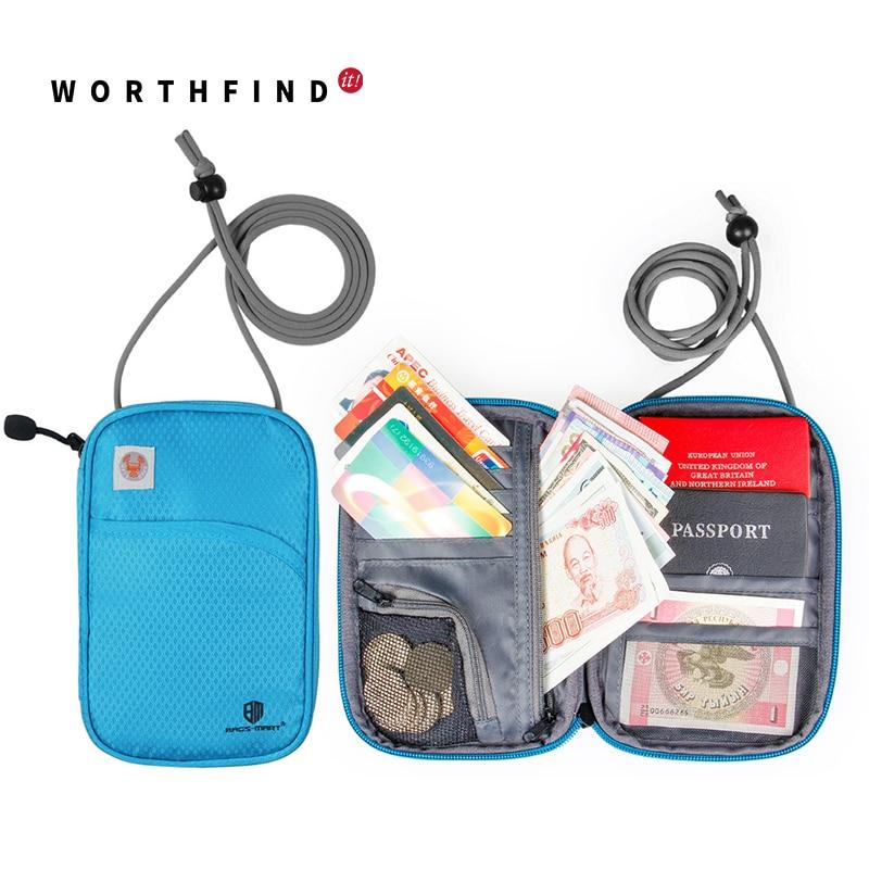WORTHFIND паспорт әмиянына арналған - Багаж және саяхат сөмкелері - фото 1
