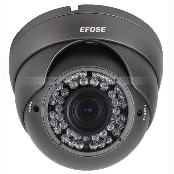 CVI Camera 1080P CCTV Dome Camera 2.8-12mm Lens CMOS Security Camera With OSD Menu (Default black) hd tvi 1080p 1 2 8 metal dome camera 2mp varifocal 2 8 12mm lens osd menu