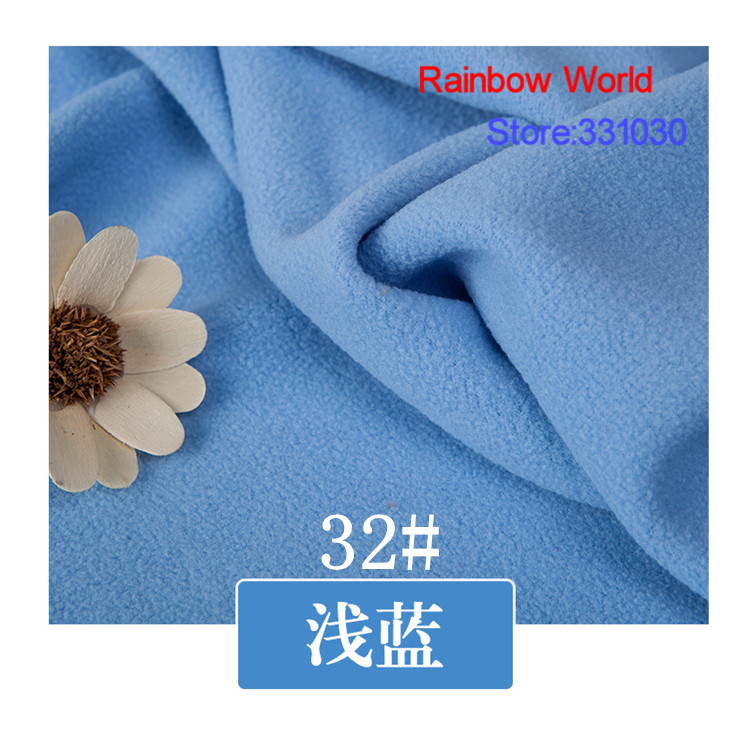 32# red 1 meter soft brushed polar fleece fabric for DIY colthes stuffed toys <font><b>blanket</b></font> bedsheet cushion material