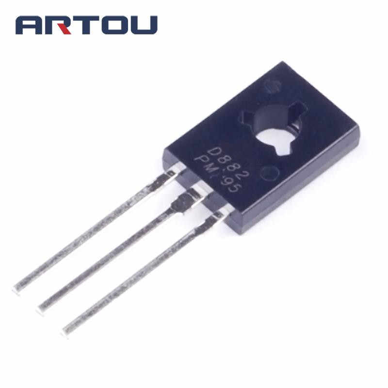 10 Pcs 2SD882 D882 To-126 Transistor