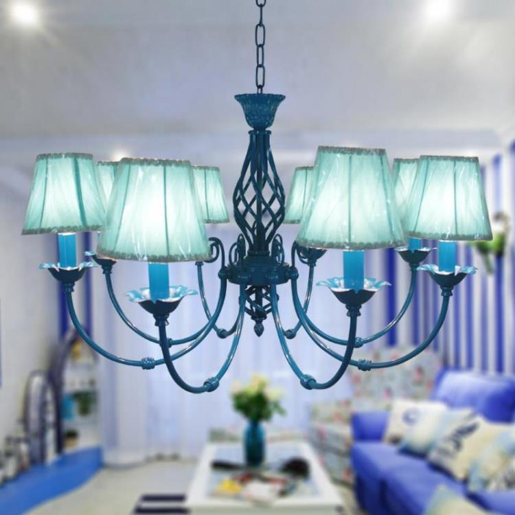 Mediterranean living room lights chandelier for Kids room chandelier