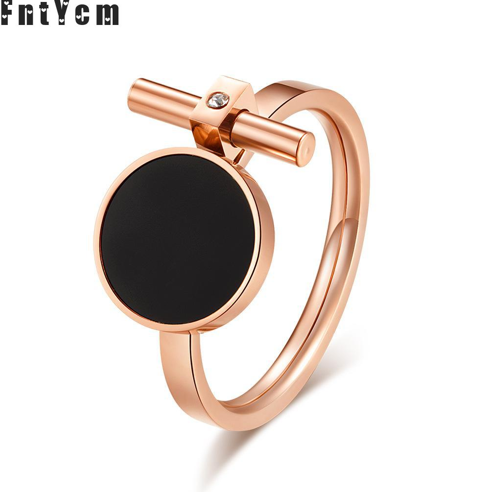fashion personality rose gold wedding girls mood rings for. Black Bedroom Furniture Sets. Home Design Ideas